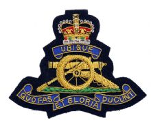 Royal Artillery - Blazer Badge